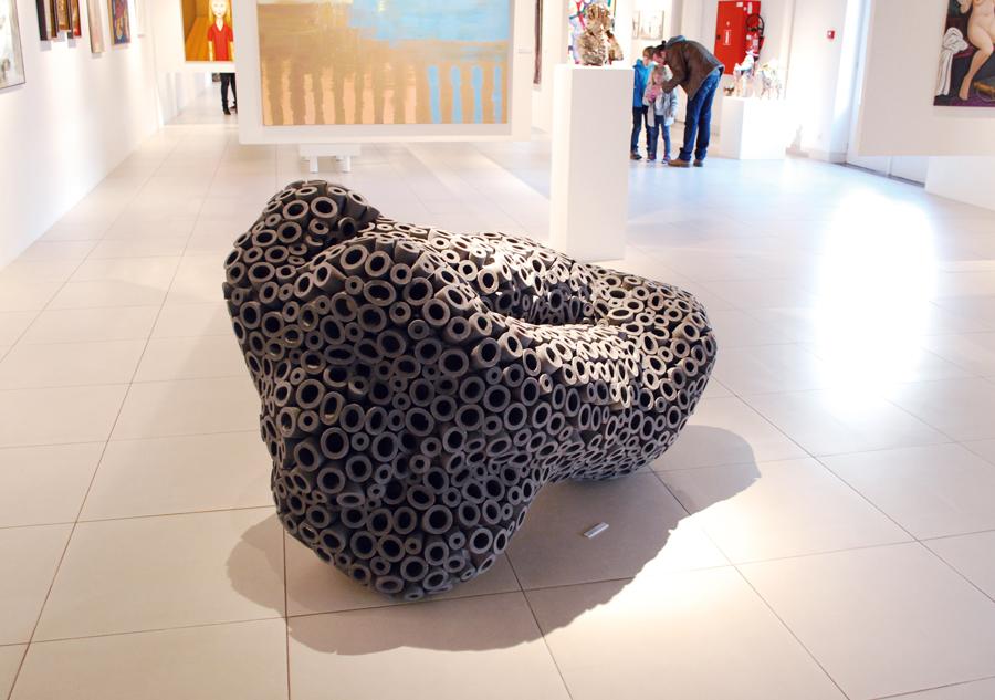 Sofhie Mavroudis - sculpture - boursouflure