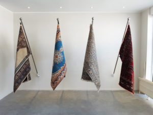 Sofhie Mavroudis - Flags belong to the people - installation